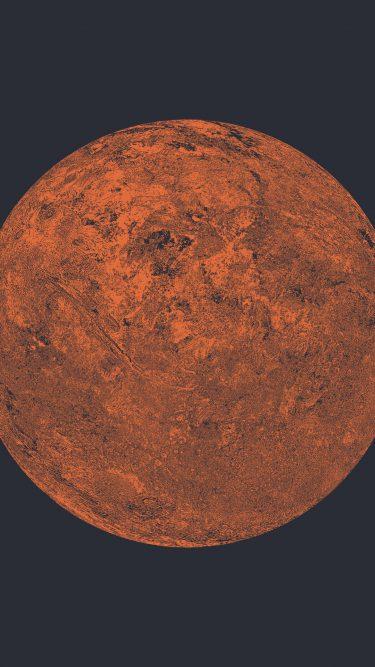 Illustration of Mars